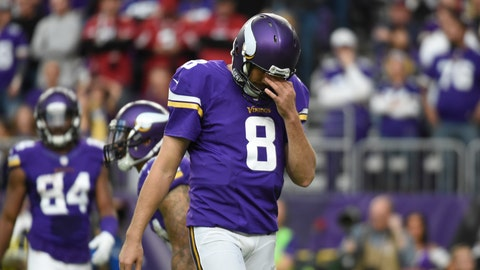 Minnesota Vikings (6-6): Having to play road game