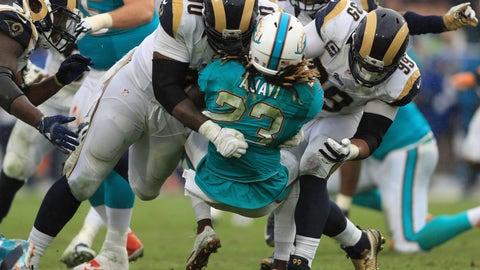 Los Angeles Rams—Aaron Donald's reflexes