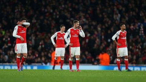 Arsenal (Previously: 3)