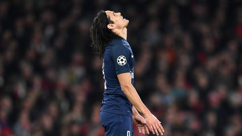 If Edinson Cavani is hurt, PSG are in real trouble