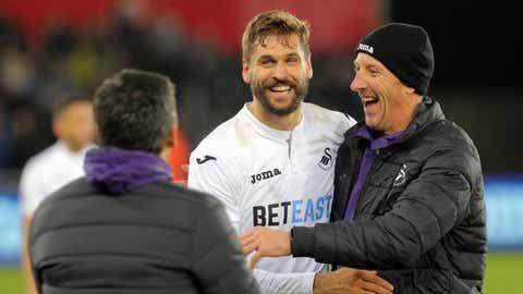 Congrats to Swansea