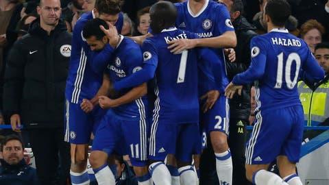 Chelsea impress ... again