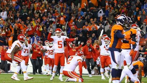 Week 16: Broncos at Chiefs, Dec. 25