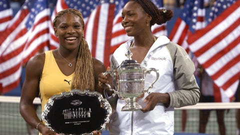 Serena and Venus, 2001 U.S. Open Final (Arthur Ashe Stadium)
