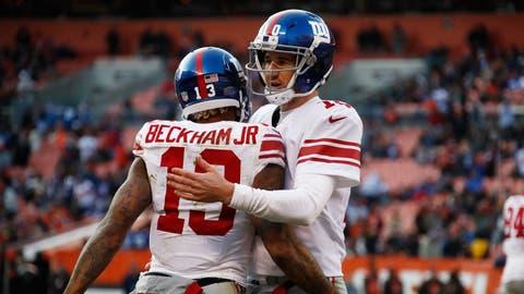 NFC #5 seed: New York Giants (8-3)