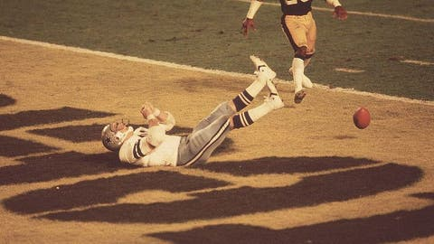 Tight end Jackie Smith's Super Bowl drop