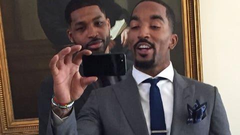 White House selfie!