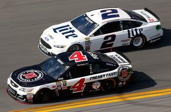 Teams of Brad Keselowski, Kevin Harvick hit with penalties by NASCAR