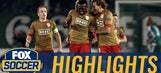 Cisse's powerful shot gives Standard Liege the lead   2016-17 UEFA Europa League Highlights