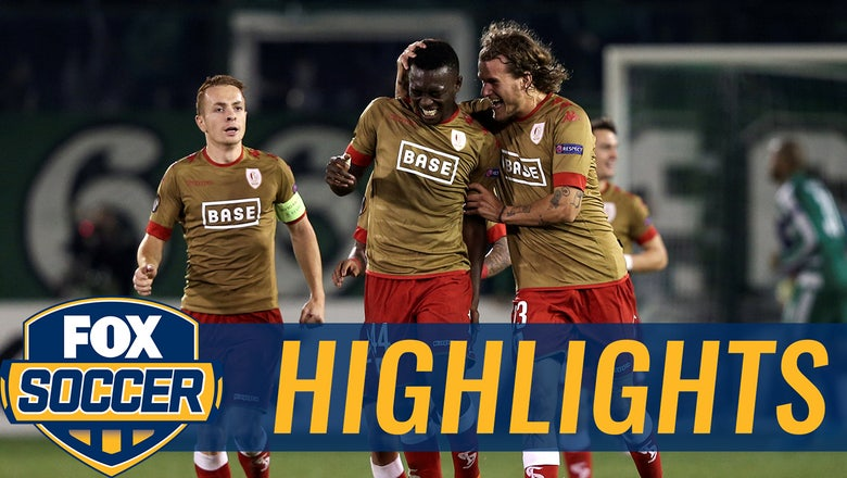 Cisse's powerful shot gives Standard Liege the lead | 2016-17 UEFA Europa League Highlights