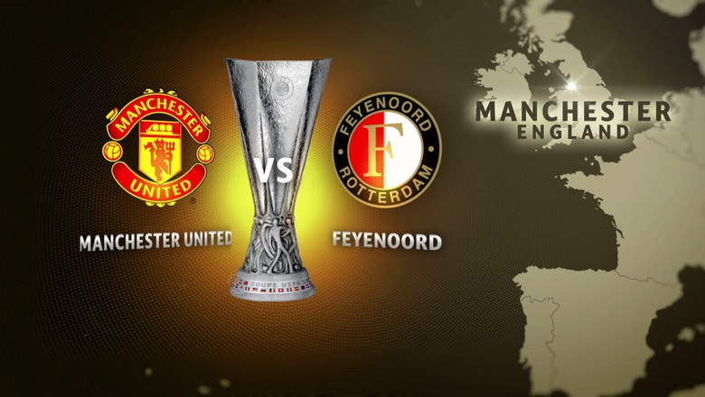 Manchester United vs. Feyenoord | 2016-17 UEFA Europa League Highlights