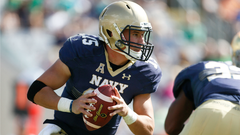 Will Worth, QB, Navy (Armed Forced Bowl)