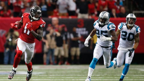 Atlanta Falcons at Carolina Panthers, 1 p.m. FOX (709)