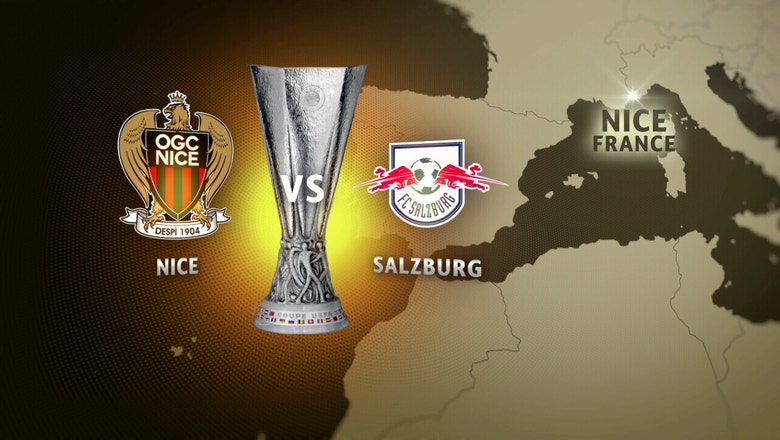 Nice vs. Red Bull Salzburg | 2016-17 UEFA Europa League Highlights