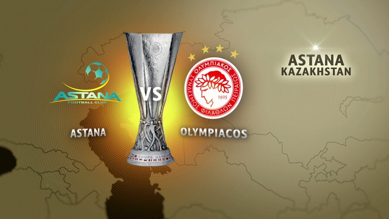 Astana vs. Olympiacos | 2016-17 UEFA Europa League Highlights