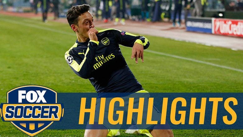 Ozil styles on Ludogorets for the game-winner | 2016-17 UEFA Champions League Highlights