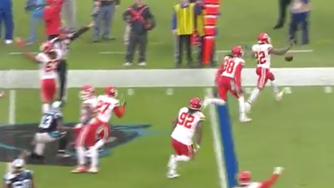 Marcus Peters, you know better than that