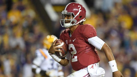 SLIDERS: 3. Jalen Hurts, QB Alabama, Fr.