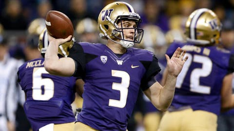 Washington (-7.5) vs. Colorado (Friday, FOX, 8 ET)