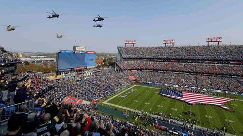 Falcons: Nissan Stadium (Titans)