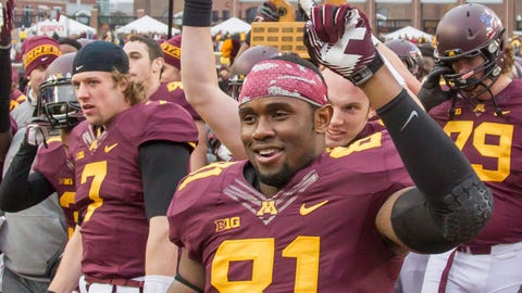 Duke Anyanwu Jr., Gophers tight end