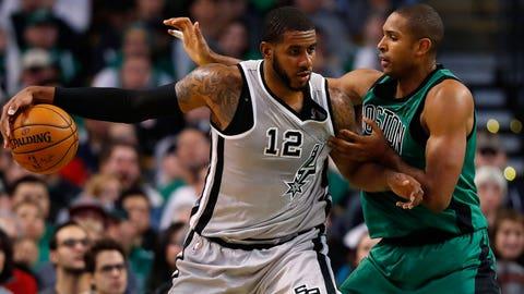 Boston Celtics vs. San Antonio Spurs: +5550 (111/2)