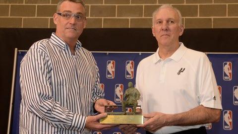 R.C. Buford, Gregg Popovich - GM and head coach, San Antonio Spurs