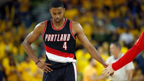 To Portland for Meyers Leonard, Moe Harkless and 2017, 2018 first-round draft picks