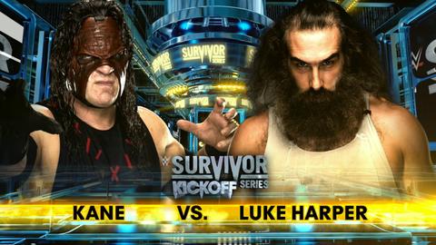Kickoff show: Kane vs. Luke Harper