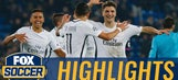 Meunier hands PSG late win with great volley | 2016-17 UEFA Champions League Highlights