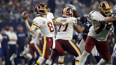 NFC #6 seed: Washington Redskins (6-4-1)