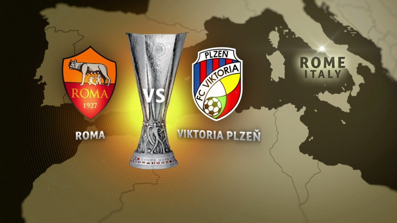 Roma vs. Viktoria Plzen | 2016-17 UEFA Europa League Highlights