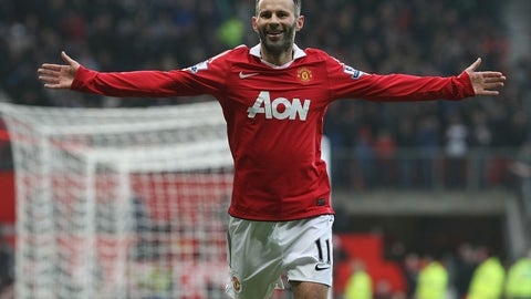 Ryan Giggs - 151 appearances