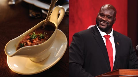 Gravy—Also Shaquille O'Neal