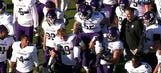Retired Navy Seal honored by Northwestern teammates for Veterans Day