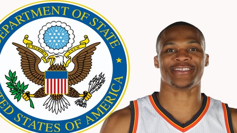 Secretary of State: Russell Westbrook