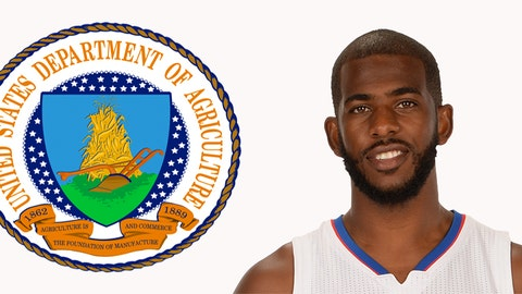 Secretary of Agriculture: Chris Paul