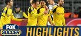 Kagawa nets two goals in one minute vs. Legia   2016-17 UEFA Champions League Highlights