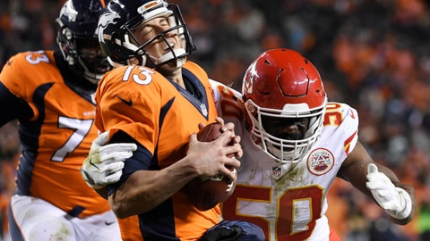 Denver Broncos (8-4): Falling behind early in a game