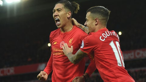 Saturday: Southampton vs. Liverpool