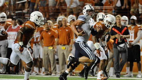 BYU 41, Texas 7 | Sept. 7, 2014