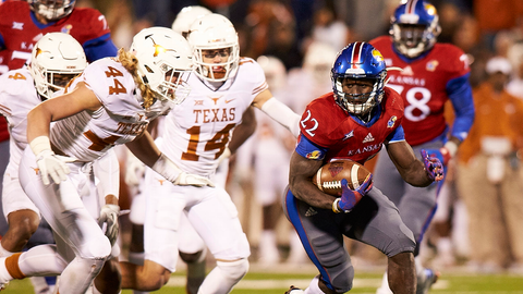 Kansas 24, Texas 21 | Nov. 19, 2016