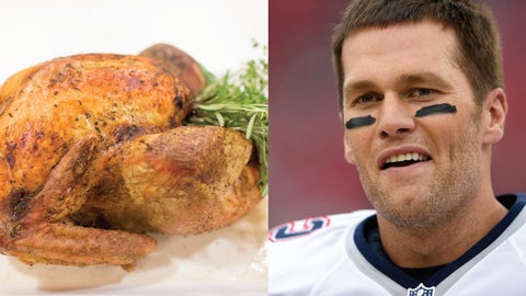 Turkey—Tom Brady
