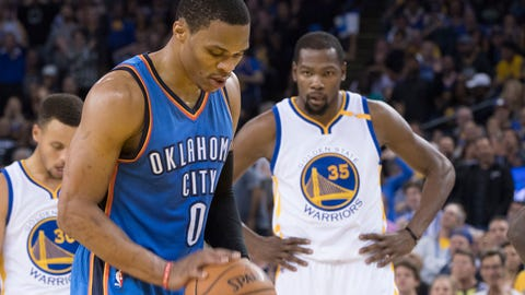 Best Rivalry: Kevin Durant vs. Russell Westbrook