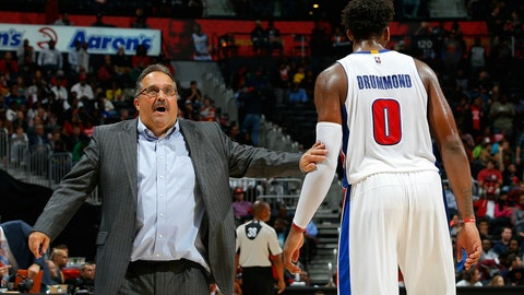 Detroit Pistons: Stan Van Gundy's growing frustration