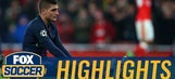 Marco Verratti's own goal gives Arsenal the lead | 2016-17 UEFA Champions League Highlights
