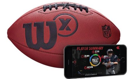 Wilson X football