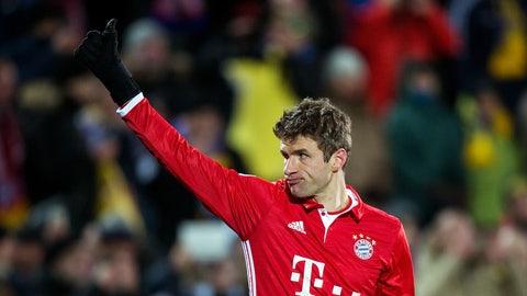Bayern Munich: Muller's only getting older