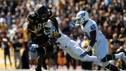 Jalin Moore, RB, Appalachian State (Camellia Bowl)