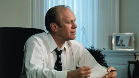 Michigan: Gerald Ford (President of the United States)